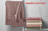 """Бамбуковая простынь """"Bamboo sarmasik"""" 160х220 (Турция)"""
