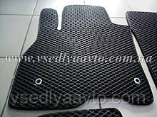 Водительский коврик в салон для Nissan Leaf (EVA)
