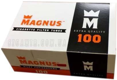 Гильзы для набивки сигарет Magnus 125 шт