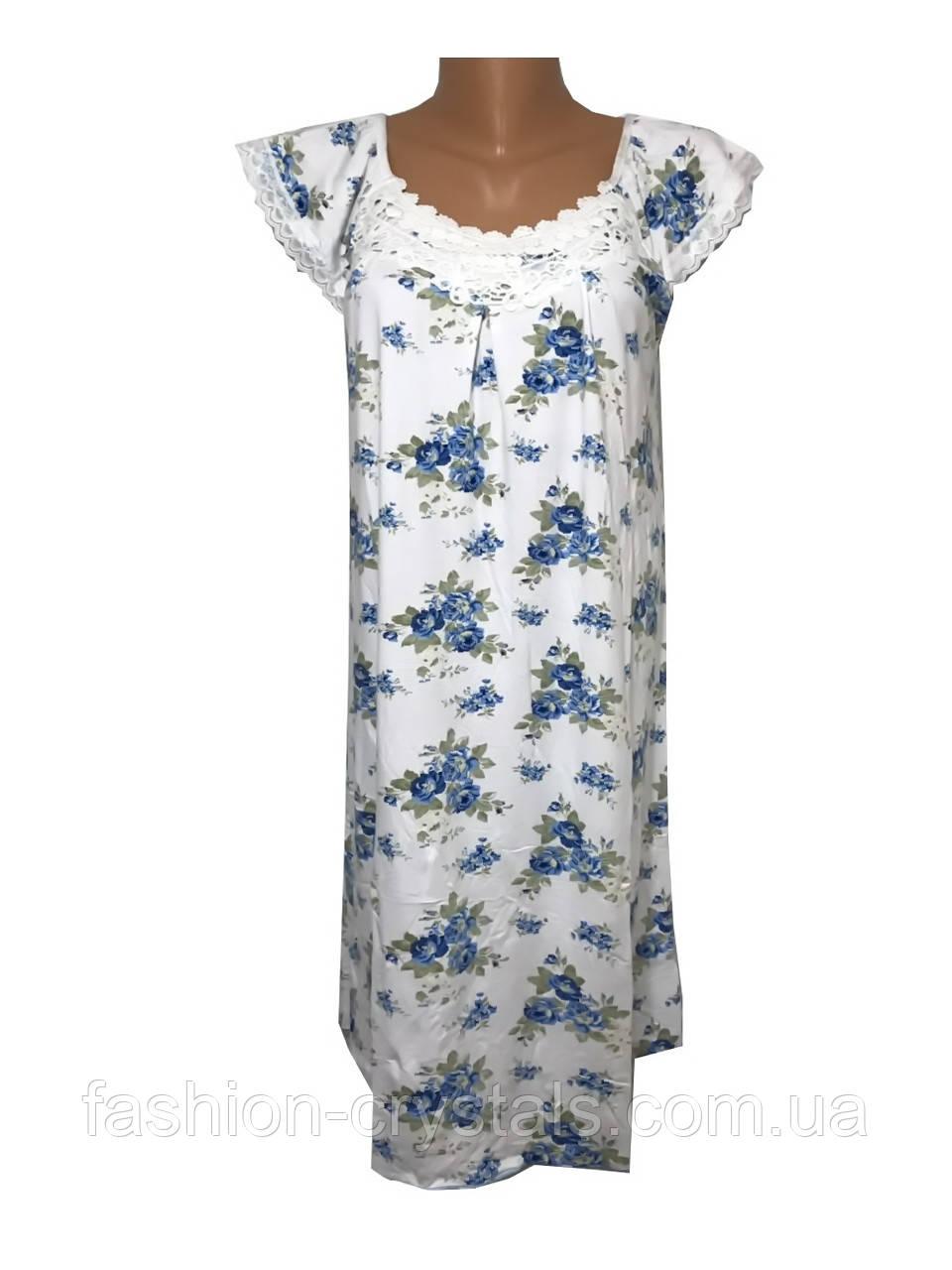 Ночная рубашка с кружевом