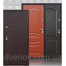 Входная дверь Стройгост 7-2 металл/ХДФ,Итальянский орех
