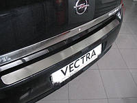 Opel Vectra C Sedan Накладка на задний бампер Натанико