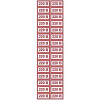 """Наклейка """" 220 В """""""