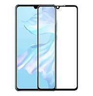 Защитное стекло 5D Full Glue для Huawei P30 Black (Screen Protector 0,3 мм)