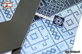 Мужской синий набор с зажимом Сакар, фото 3