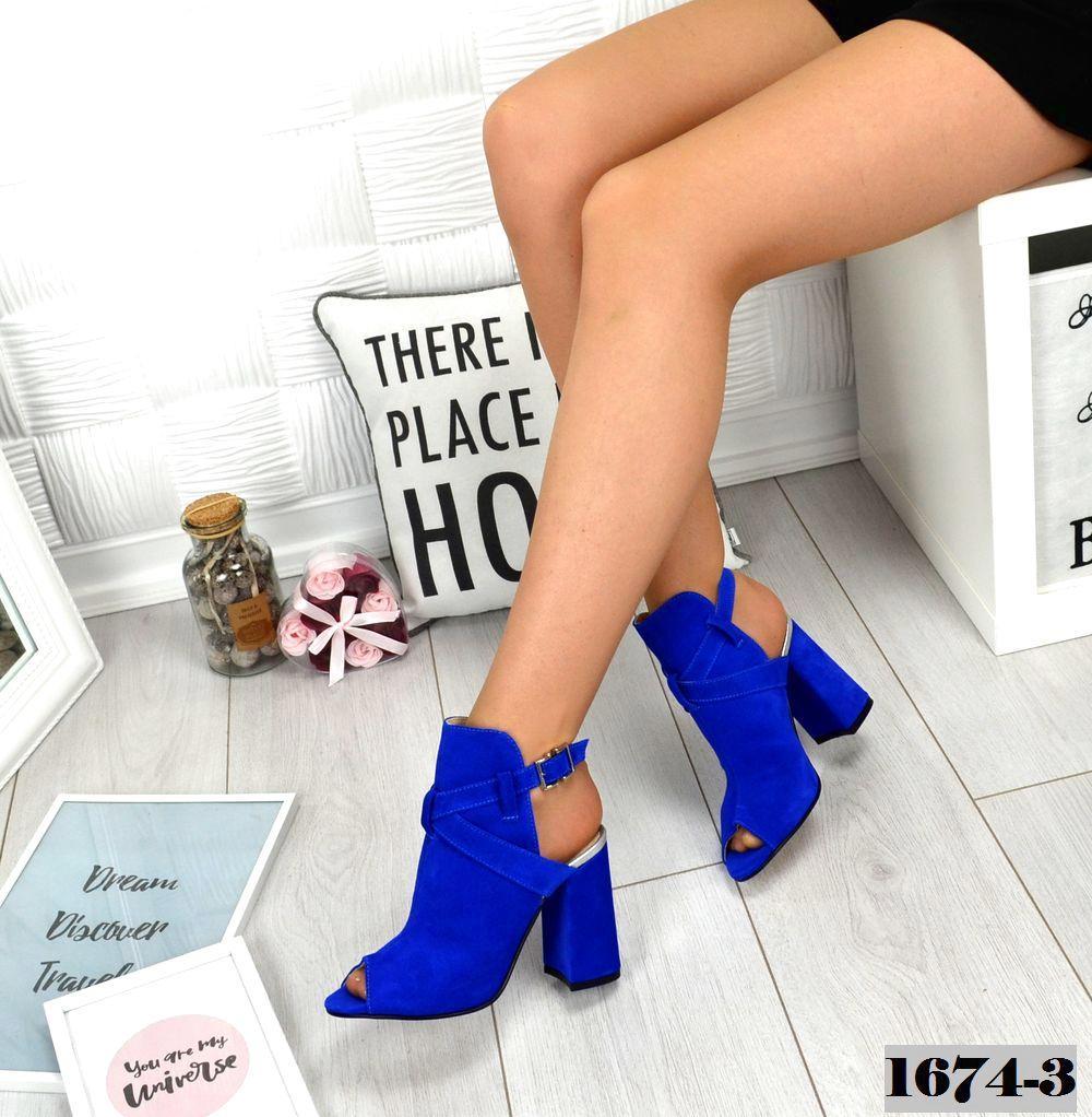 b5ba9662374a58 Босоніжки жіночі на каблуку натуральна шкіра електрик: продажа, цена ...