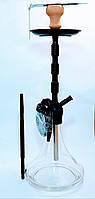 Кальян MK78-5 на 1 силиконовую трубку с металлическими наконечниками высота 70 см