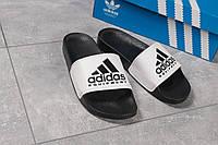 Шлепанцы мужские Adidas Equipment, черные (16293) размеры в наличии ► [  43 45  ], фото 1