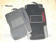 Ворсовые коврики в салон для AUDI A1 c 2010-