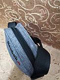 (Новый стиль)Барсетка puma мессенджер 600d для через плечо(только ОПТ), фото 3