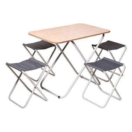 "Комплект ""Пикник"" Стол + 4 стула, фото 2"