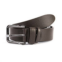 Ремень мужской кожаный для брюк 3,5 см