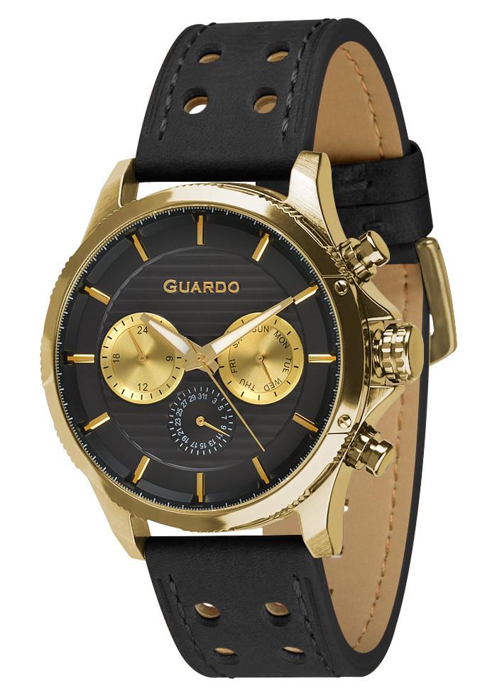 Часы мужские Guardo 011456-3 черные