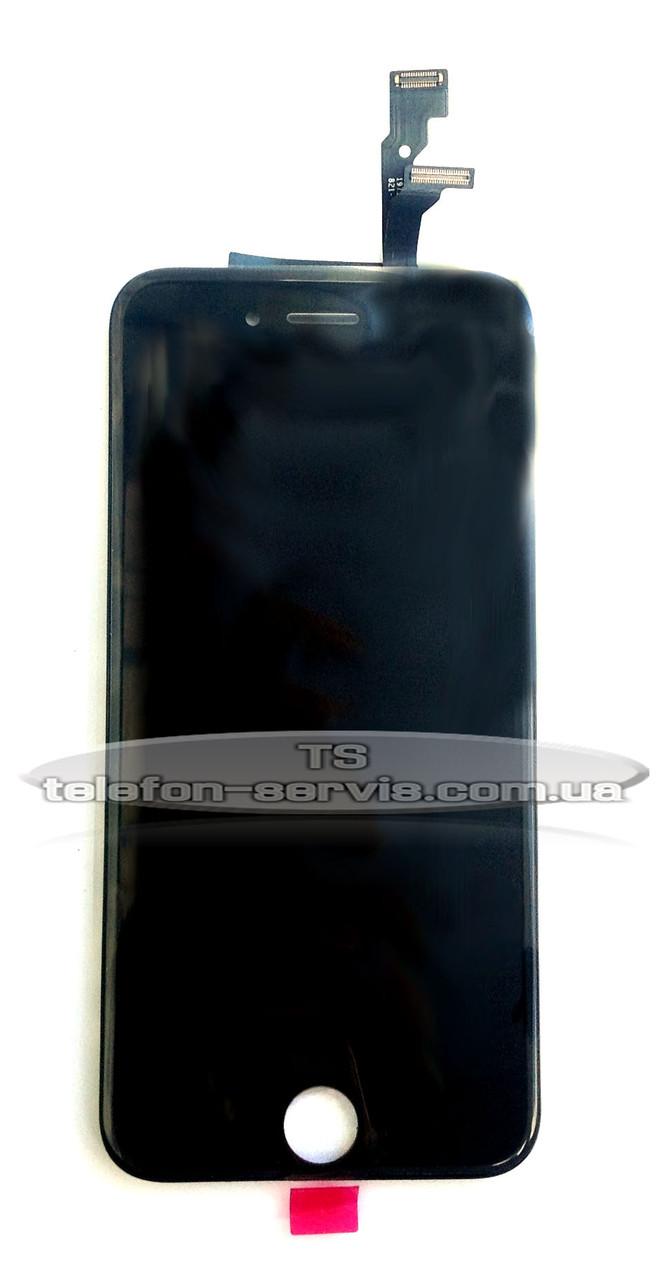 Дисплей  Apple iPhone 6, черный, с тачскрином