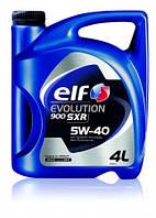 Масло моторное ELF EVOLUTION 900 SXR 5W40 (ACEA A3/B4 - API SN/CF, RENAULT RN0700/RN0710) 4L
