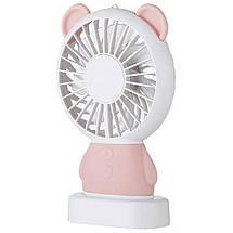 Портативный ручной вентилятор Baseus Dharma bear Fan с встроенным аккумулятором, фото 2