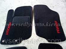 Ворсовые коврики передние Peugeot 207 (2006-2012)