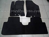 Ворсовые коврики HYUNDAI ix20 (Черные)