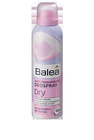 Balea дезодорант антиперспирант сухость Anti-Transpirant Deospray Dry 200мл