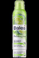Balea дезодорант антиперспирант свежий лайм Deospray Fresh Lime 200мл
