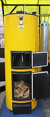 Буран New 40 ГВС котел на дровах длительного горения с водяным контуром, фото 2
