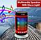 Колонка портативная Bluetooth со светомузыкой WSTER WS-1806 FM AUX USB Black, фото 3