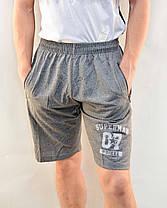 Шорты мужские трикотажные с молниями на карманах Bikee, фото 2