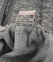 Шорты мужские трикотажные с молниями на карманах Bikee, фото 3