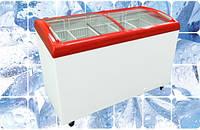 Морозильный ларь Juka с гнутым стеклом M400 SB