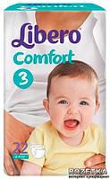 Подгузники детские Libero Comfort 3 4-9 кг 22 шт.