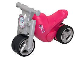Мотоцикл Big каталка толокар беговел Девичий стиль и защитные накладки для детской обуви Girlie Bike 56362