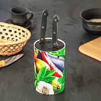 Подставка для ножей с наполнителем из полипропиленового волокна Universal Knife Holder