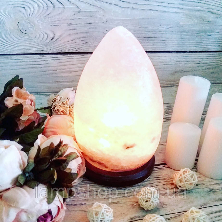 Соляная лампа «Капля» 3-4кг