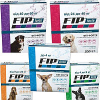 Fip Forte (Фип Форте) для собак от 9 до 24 кг 1 пипетка