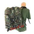 Рюкзак  штурмовой 36 литров военный США MIL-TEC Woodland, 14002220, фото 4