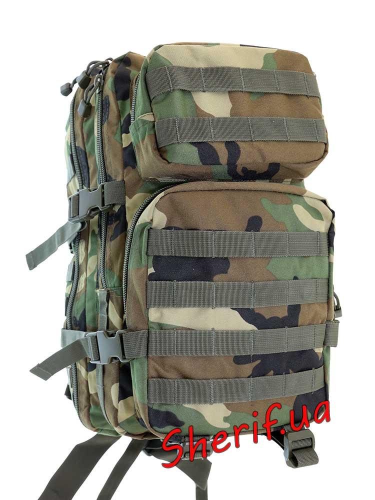 Рюкзак  штурмовой 36 литров военный США MIL-TEC Woodland, 14002220