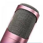 Беспроводной микрофон К-068 bluetooth для караоке / Tuxun k068 с динамиком (Золотой), фото 6
