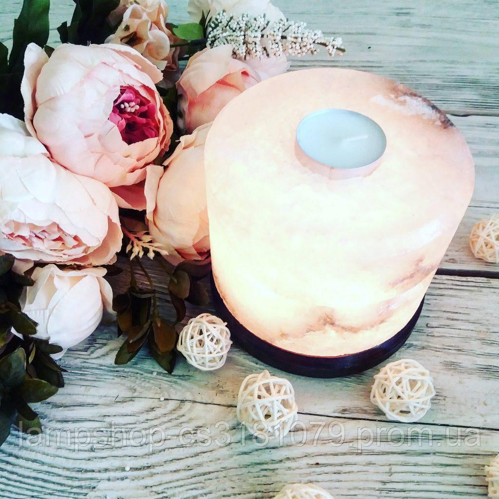 Соляная лампа, аромалампа «Свеча-арома» 2кг