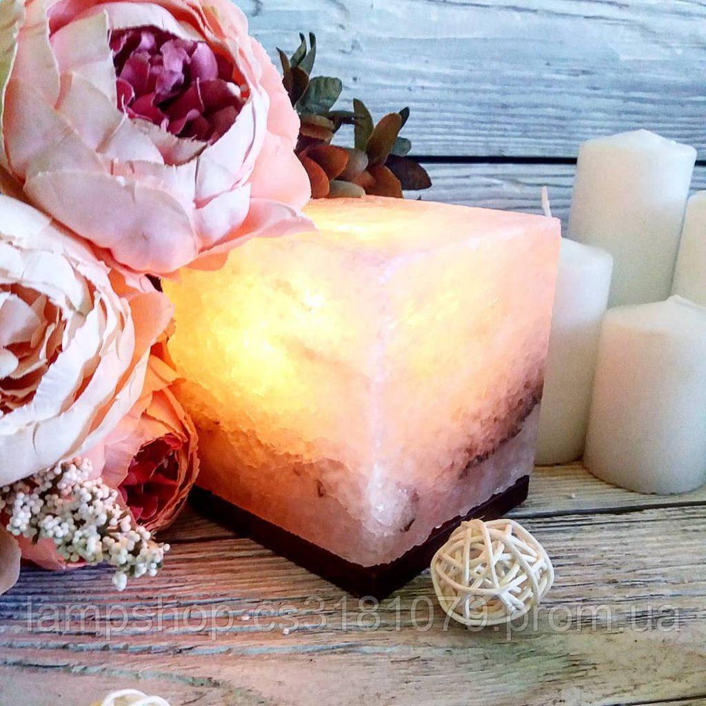 Соляная лампа «Квадрат» 1кг