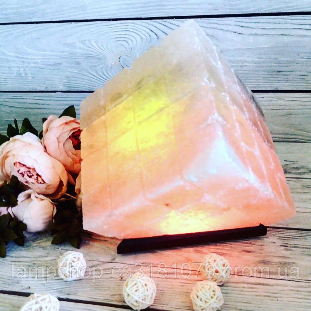 Соляная лампа «Куб» 10 кг
