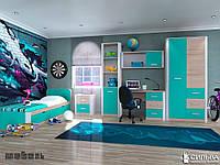 Подростковая комната Бирюза
