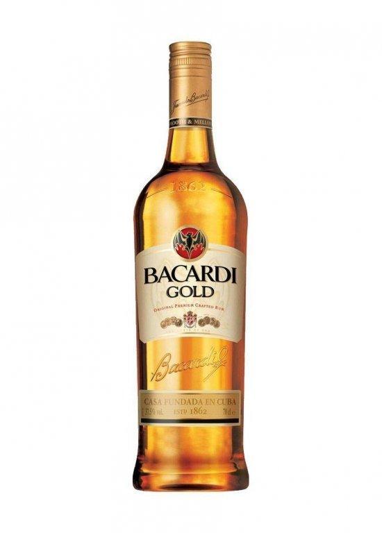 Ром Bacardi Gold (Бакарди Голд) 40%, 1 литр