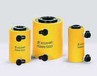 Гидравлический домкрат цилиндр с полым штоком двойного действия HHYG-KS 200 тн., 100 мм.