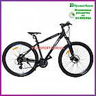 Горный велосипед Crosser Cross 29 дюймов черный, фото 4
