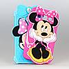 Чехол Disney Minnie Mouse 3D силиконовый высококачественный для Samsung Galaxy A3/A300/A3000 розовый
