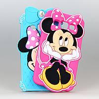 Чехол Disney Minnie Mouse 3D силиконовый высококачественный для Samsung Galaxy A3/A300/A3000 розовый, фото 1