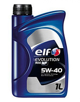 Масло моторное ELF EVOLUTION 900 NF 5W40 (ACEA A3/B4 - API SL/CF, VW 502.00/505.00, MB 229.3) 1L