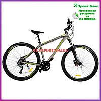 Горный велосипед Crosser Cross 29 дюймов серый