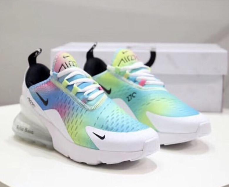 best authentic a21cf 56986 Кроссовки мужские Nike Air Max 270 Customs Colorful x Kylie Boon D7216  разноцветные