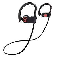 Беспроводные Bluetooth наушники с микрофоном Alitek U8 Sport Stereo Black